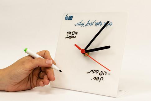 שעון שולחני מחיק | יום האישה