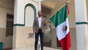 Escuela Morelos Veracruz celebra así el Grito de Independencia