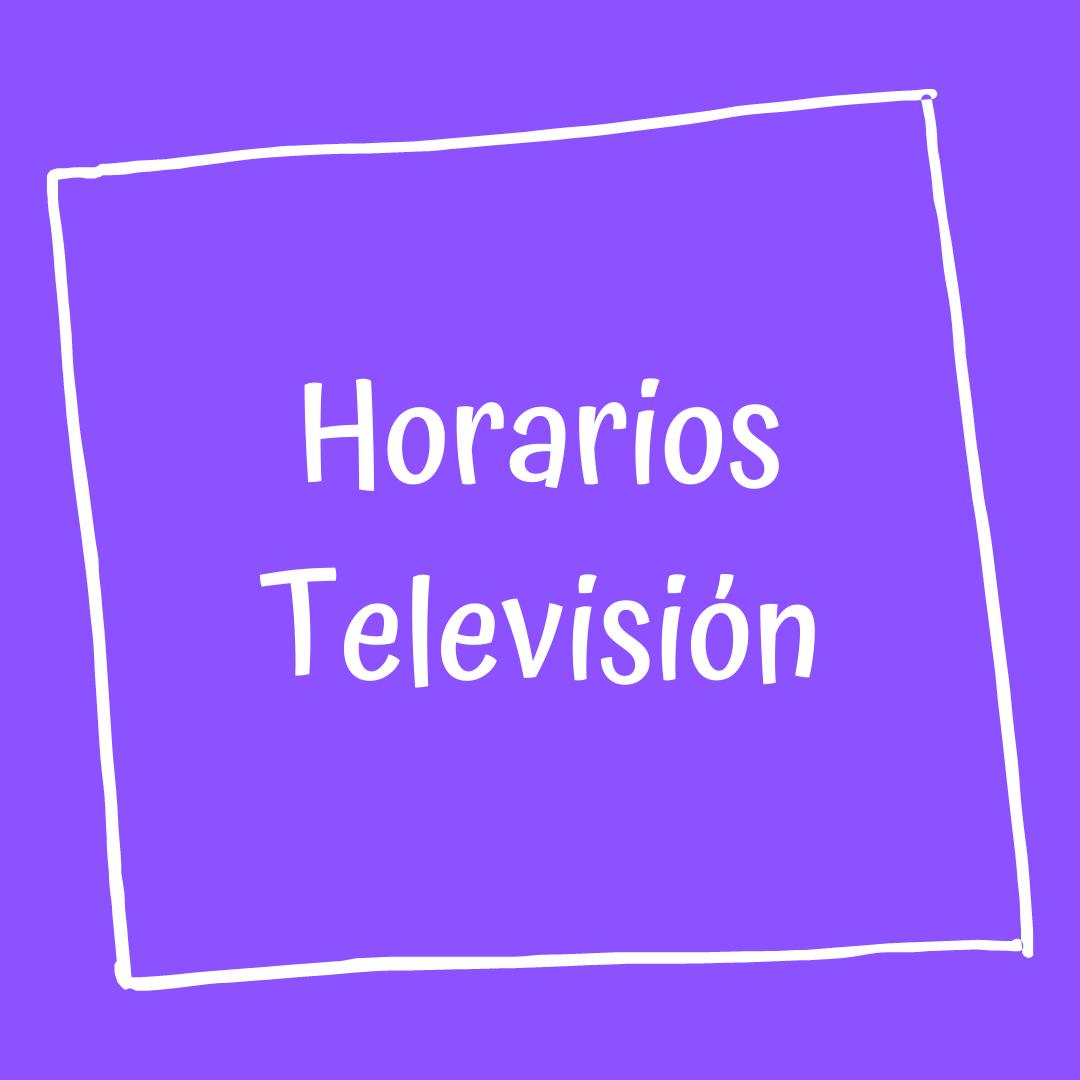 horarios television.png