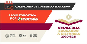 Programación de Clases por Radio Educativa del 19 al 23 de octubre