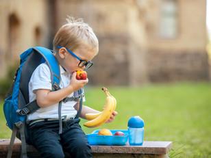 Opciones saludables para el lunch escolar