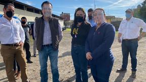 Conmemoran Día Internacional de la Educación Cuitláhuac García, Maritza Ramírez y Nanyelly Zaldívar