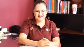 Nanyelly Zaldívar Sobrevilla invita concluir estudios en Primaria y Secundaria