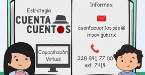 Cuentacuentos: Capacitación virtual rumbo a la convocatoria 'Siempre es Tiempo de Contar un Cuento'
