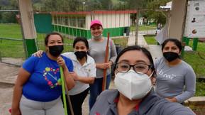 DGEPE en jornadas de limpieza en escuelas