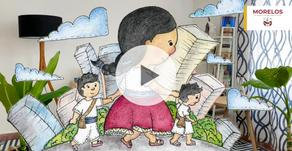 Lectura en Casa 4: Los colores de Olga. Escuela Morelos Veracruz