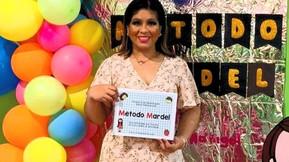 Marigel Martínez Cardel y su Método Mardel: una propuesta de alfabetización global-multisensorial