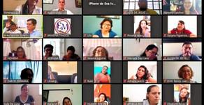 COVID-19: Maestros usan Zoom para Consejo Técnico Escolar