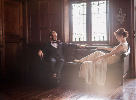 Cerys and Andrew - Magical November BoHo Elopement