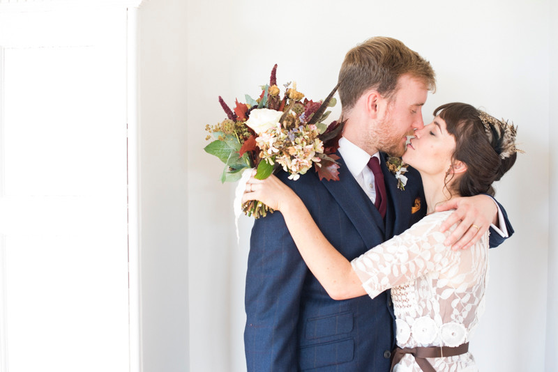 Wedding for two at BoHo Cornwall