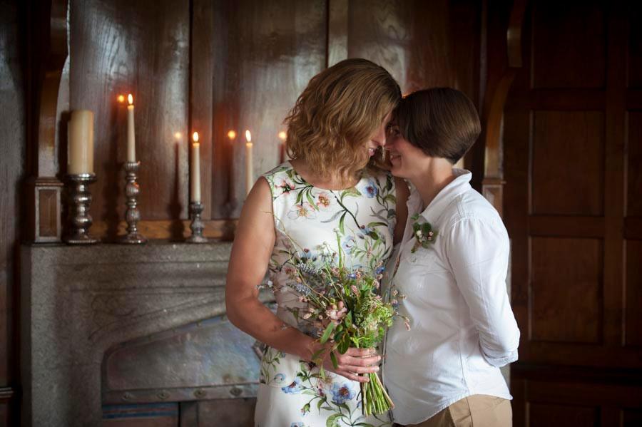 Same-sex elopement at BoHo Cornwall