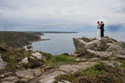 Just the 2 of you elopement at BoHo Cornwall