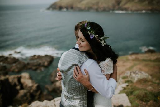 Initmate Wedding at BoHo Cornwall