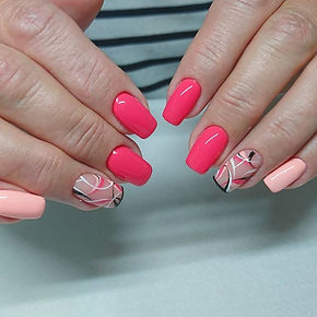 Ritocco unghie gel con nailart. #nailart