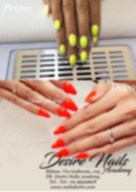 Ritocco unghie in gel  mandorla. Desire Nails