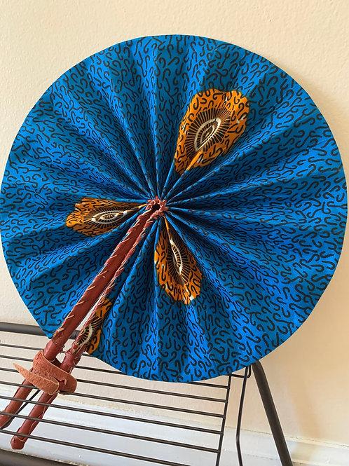 Blue Print Fan