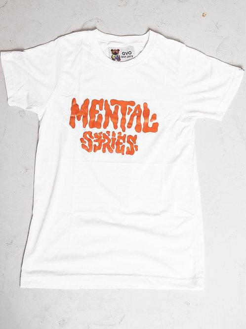 """Mental Series """"BTT"""" White"""