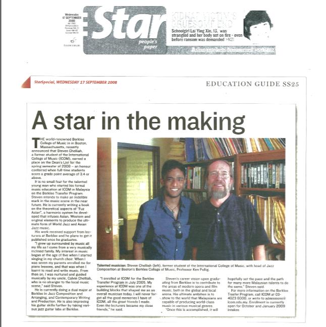 The Star Newspaper - Kuala Lumpur, Malay