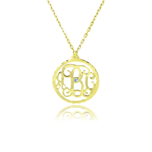 Usa name necklace monogram collection, silver monogram necklaces, monogram jewelry, necklace, Personalized jewelry