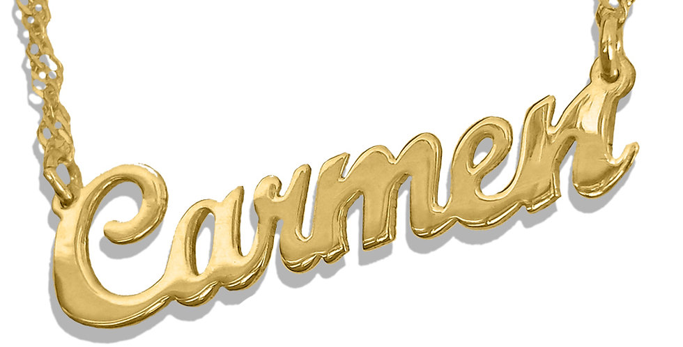 USAnamenecklace, USA Name Necklace , Custom Jewelry ,