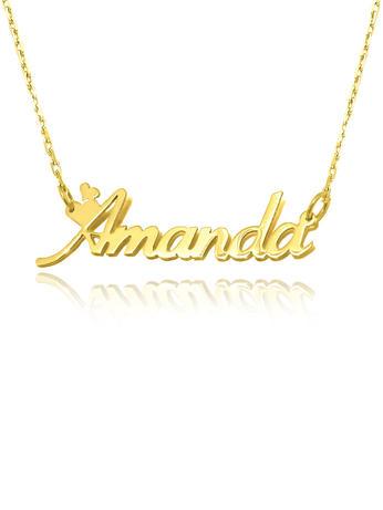 Amanda name necklace