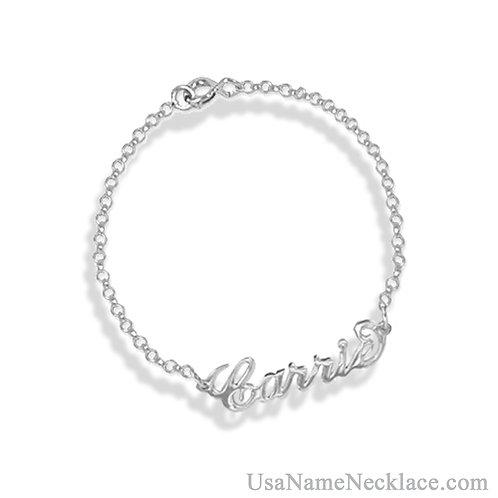 Custom Name Bracelet | Usa Name Necklace com | Personalized Jewlery usa