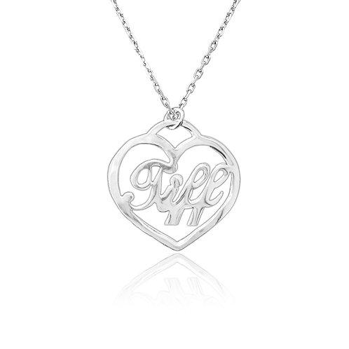 UsaNameNecklace , Tiffany Name Necklace Custom jewelry , Mother Necklaces