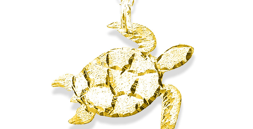 Turtle necklace, Usa Name Necklace