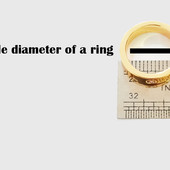 Ring Size Guide by USA Name Necklace