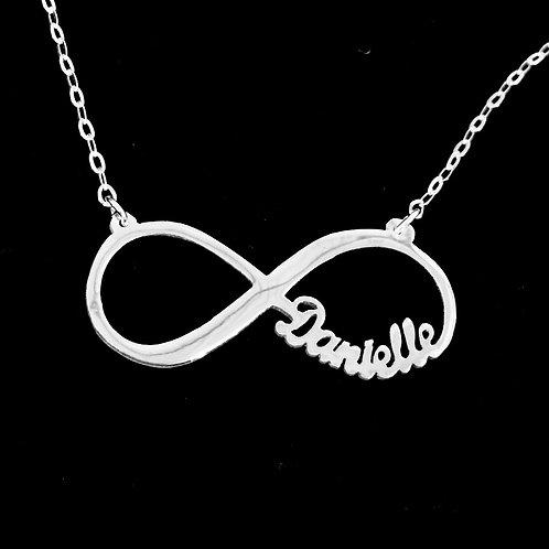 UsaNameNecklace | Infinity Name Necklace