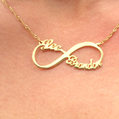 Infinity Name Necklaces | Usa Name Neckalce | Custom Name Jewelry