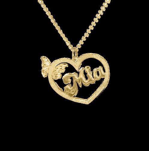 8740e5cd53fdc2 USA Name Necklace , Custom Name Necklace , Name Plate Necklace , My Name  Necklace ,