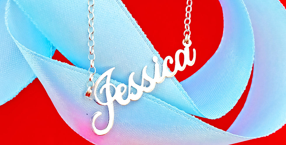 usa name necklace, sterling silver name necklace. wholesale name necklaces