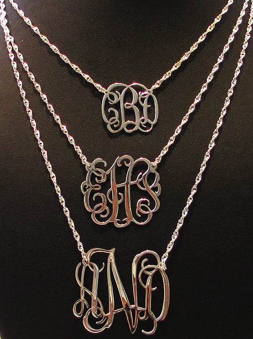 Usa Name Necklace | Monogram Necklaces | MONOGRAM JEWELRY  | SHOP MONOGRM JEWELRY