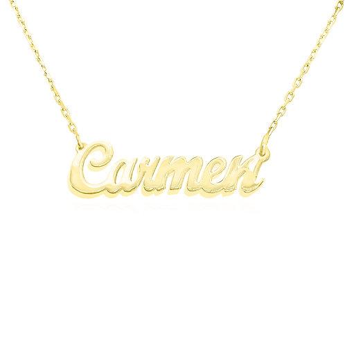 Gold Name Necklace, UsaNameNecklace, Name Necklace, Custom Necklace