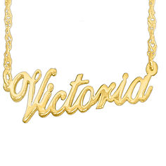 Personalized Name Neklace, Usa Name Necklace, Custom jewelry