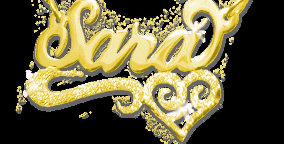 Usa Name Necklace , UsaNameNecklace, Name Necklaces , Gold Name Necklace , Personalized Name Necklace , United Stats Jewelry