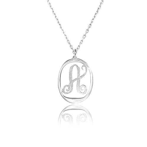 sCustom Jewelry | USA Name Necklace. LETTER necklace, personalized necklace