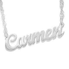 Name Necklace, Usa Name Necklace
