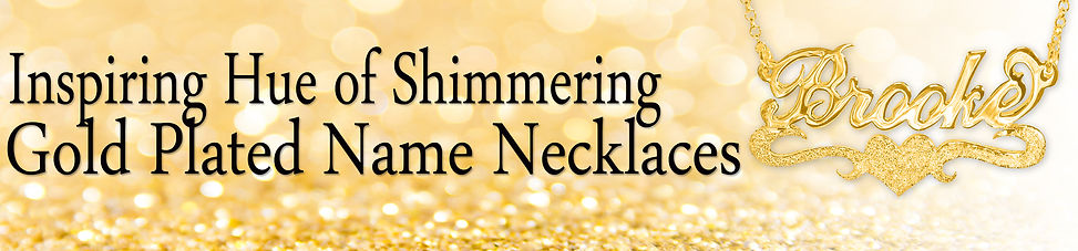 Usa Name Necklace, Name Necklace, Gold Plated Name Necklace, Gold Name Necklace.