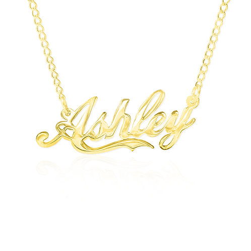 Gold Name Necklace | UsaNameNecklace | Name Necklace | Personalized Name Necklace .