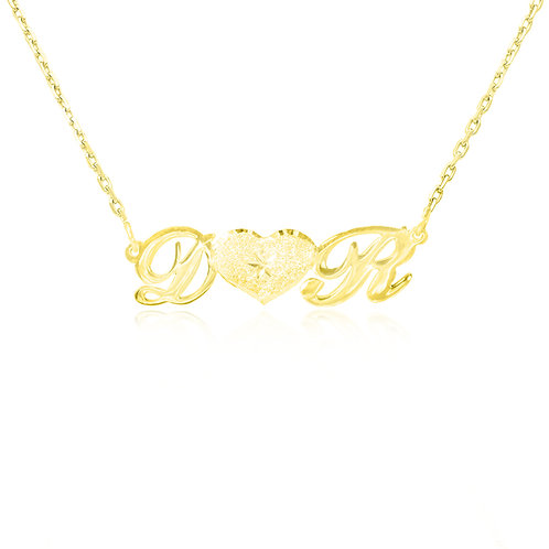 Personalized initial Necklace | Usa Name Necklace | Custom Name Necklace.
