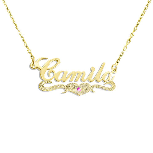 Gold name necklace, Silver Name Necklace, USA Name Necklace, Custom Jewelry, Personalized name necklace, My name necklace.