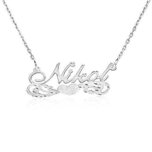 USA Name Necklace | Custom name necklace, Custom jewelry