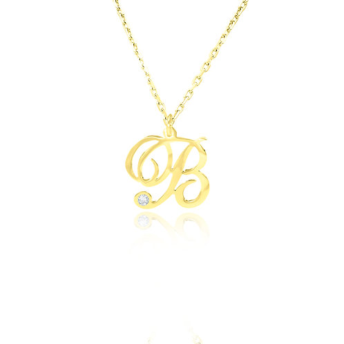 Usa name necklace , Custom Jewelry , Name Necklace initial , united states of america