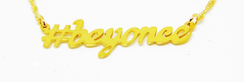 Personalized Hashtag Name Necklaces | United states Name Necklace , Hashtag  Name , Custom  Jewelry