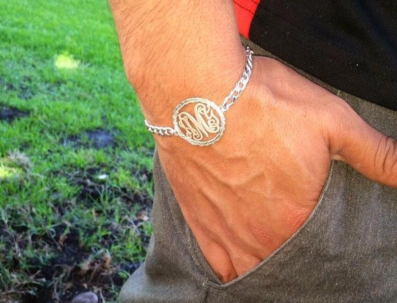 Buy Monogram Bracelet | Usa Name Necklaces | Order Monogram Necklace