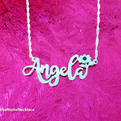 Why a Silver Name Necklace is the best gift to offer