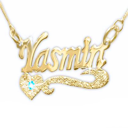 Personalized 18K Gold-Plated Name Necklace