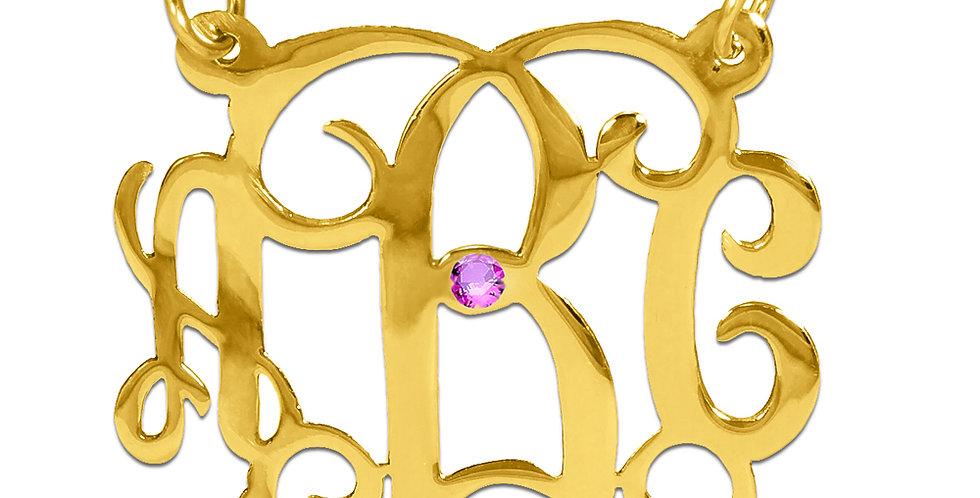 UsaNameNecklace | Monogram name necklace | Usa Name Necklace | Custom jewelry
